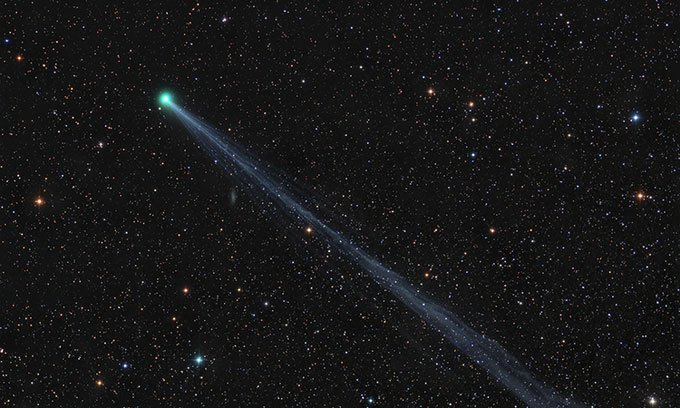 Sao chổi C/2020 F8 chụp ngày 2/5.
