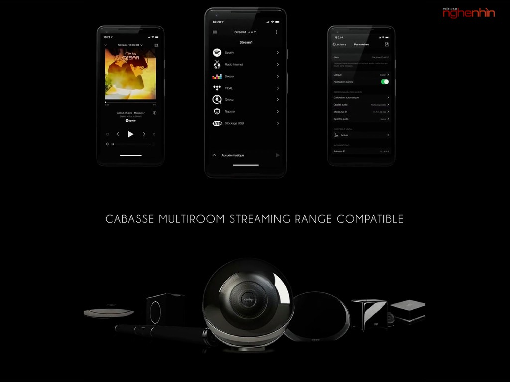 Cabasse The Pearl Akoya - Loa không dây hi-end 1050W chuẩn audiophile ảnh 11
