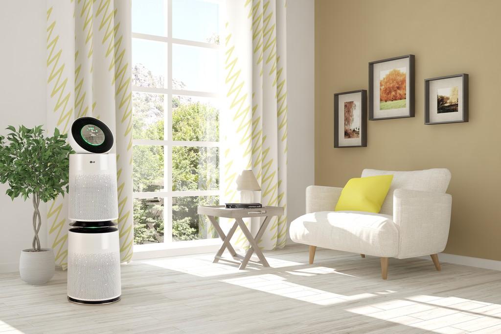 Ra mắt máy lọc không khí LG Puricare 360° với bộ lọc SafePlus ưu việt ảnh 5