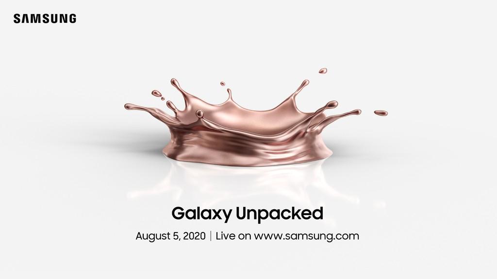 Samsung sẽ mở hộp Galaxy Note 20, Z Fold 2, Z Flip 5G vào ngày 5/8? ảnh 1