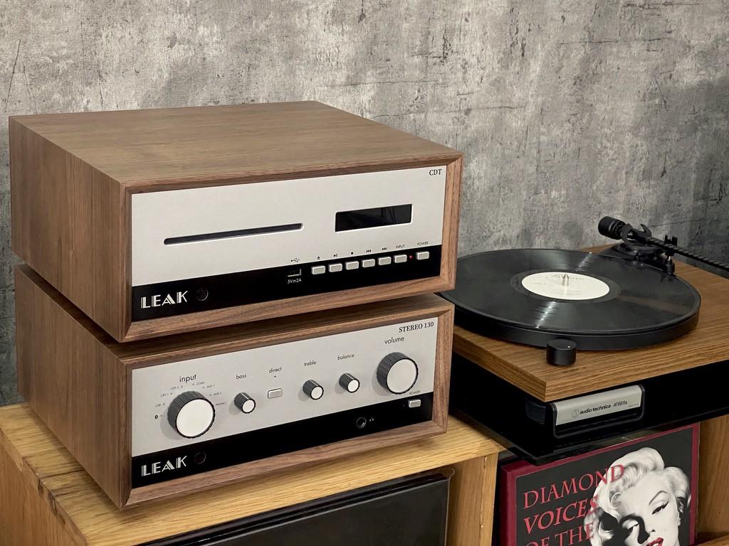 Cận cảnh LEAK Stereo 130 & CDT đầu tiên tại Việt Nam, chất vintage quá ấn tượng ảnh 3