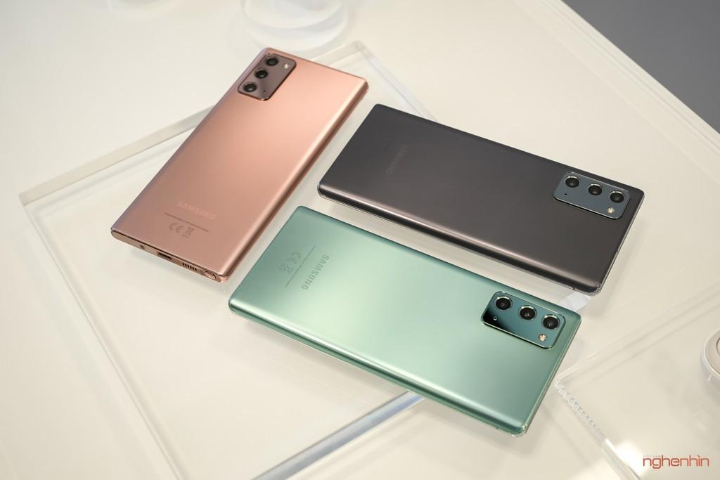Galaxy Note 20 so với Note 10: Có đáng để nâng cấp? ảnh 2