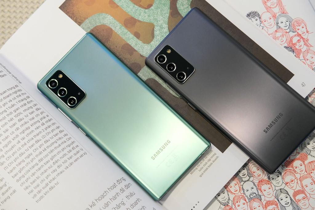 Galaxy Note 20 so với Note 10: Có đáng để nâng cấp? ảnh 4