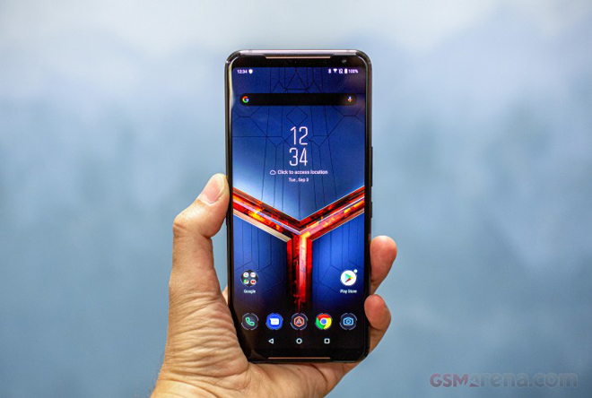 """tren tay smartphone choi game """"dinh dam"""" asus rog phone ii hinh anh 1"""