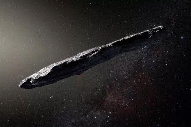 Thiên thạch Oumuamua, thiên thể liên sao đầu tiên