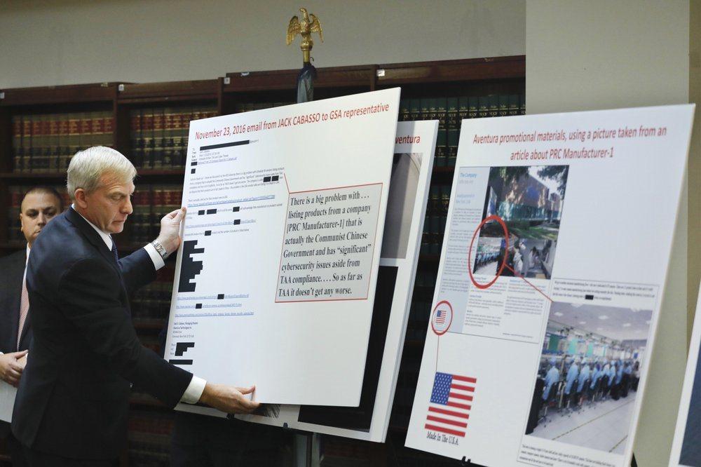 Mỹ bắt công ty bán thiết bị an ninh Trung Quốc nhưng dán mác sản xuất tại Mỹ