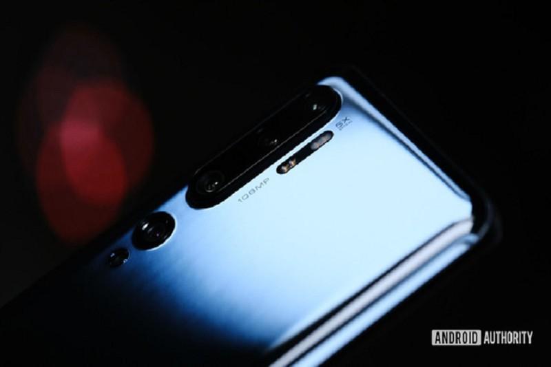 Xiaomi Mi Note 10 dung zoom quang 5x ao