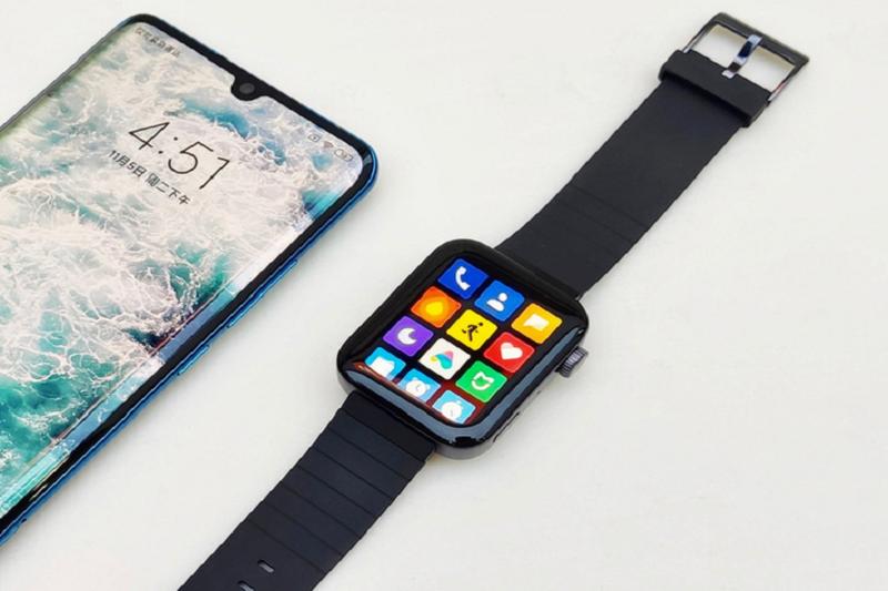 Can canh Xiaomi Mi Watch: Ban sao gia re cua Apple Watch-Hinh-3
