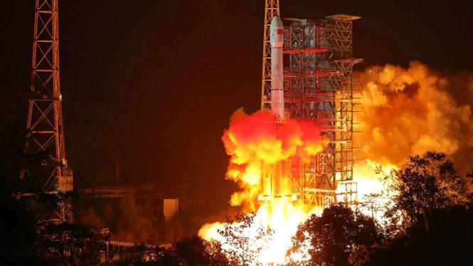 Tên lửa Trường Chinh 3B được phóng vào sáng 8/12.