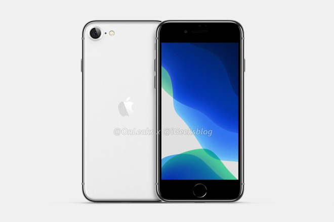 hot: hinh anh ve iphone 9 da duoc lo dien, giong het iphone 8 hinh anh 1