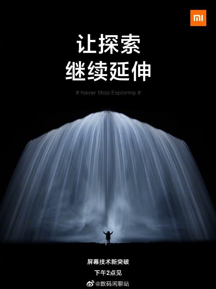 Poster mới cho thấy Xiaomi Mi MIX Alpha 2 có thể sớm ra mắt ảnh 1