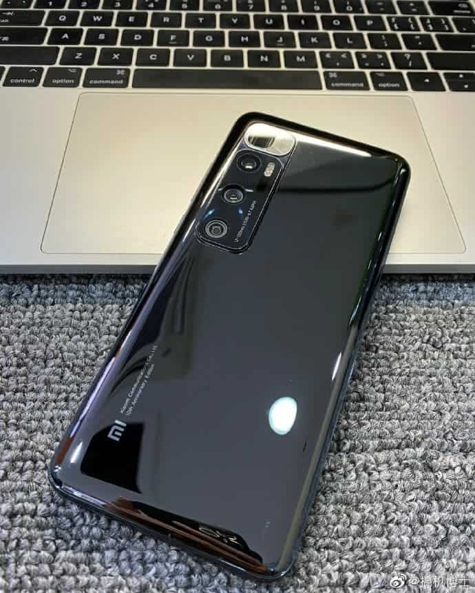 Hình ảnh thực tế của Xiaomi Mi 10S xuất hiện trực tuyến ảnh 1