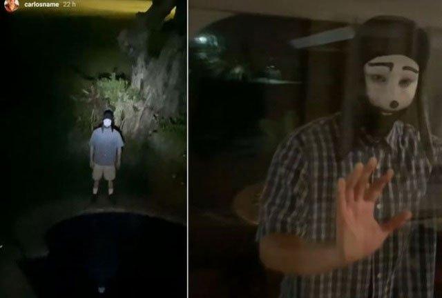 Một đoạn video với nội dung rùng rợn sử dụng hình ảnh của Jonathan Galindo