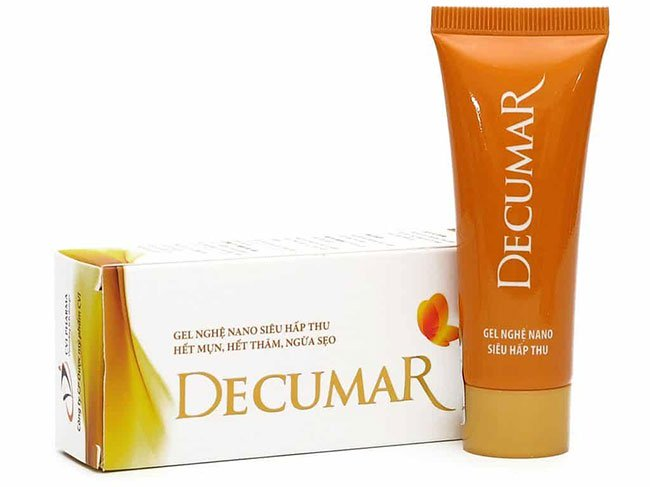 Decumar đặc biệt phù hợp với lứa tuổi dậy thì.