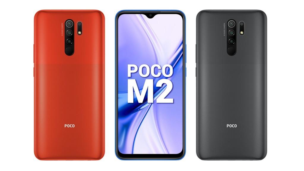 POCO M2 ra mắt: Helio G80, pin 5000mAh, RAM 6GB, giá từ 149 USD ảnh 1