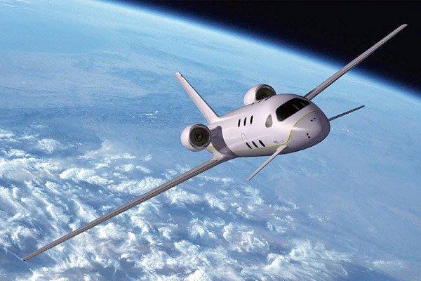 Vì một số giới hạn trong thiết kế, máy bay dân dụng không thể bay ra không gian.