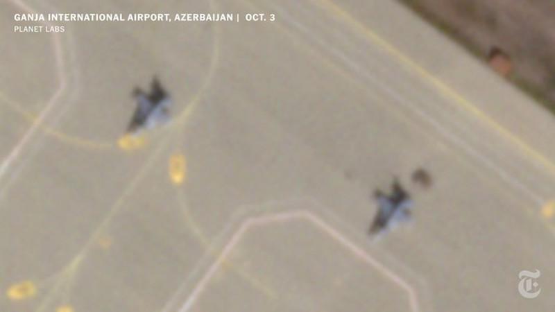 Anh ve tinh to cao Tho Nhi Ky dua tiem kich F-16 den Azerbaijan-Hinh-2