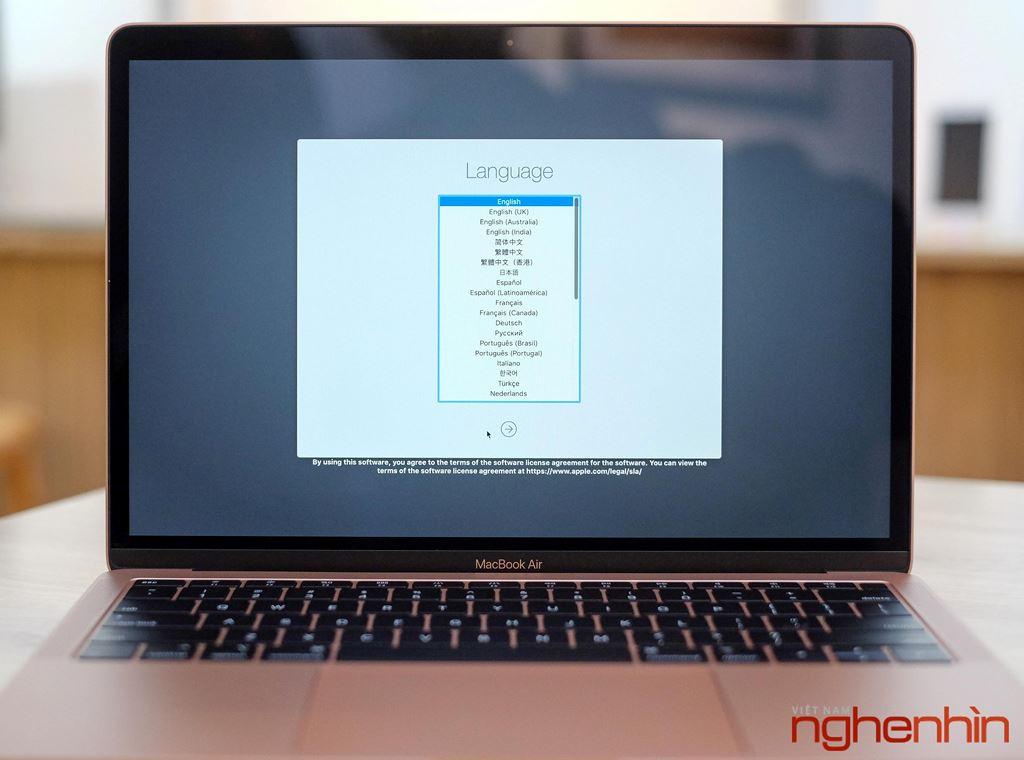 Trên tay MacBook Air 2018: màn hình rất nét, viền mỏng, bổ sung Touch ID ảnh 11