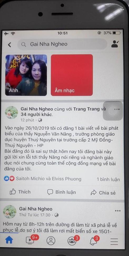 Bêu xấu Trưởng phòng giáo dục huyện, nữ chủ tài khoản Facebook bị phạt 5 triệu