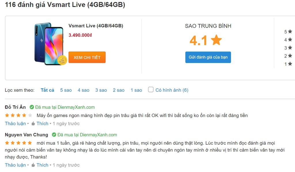 Vsmart Live được săn lùng hơn cả iPhone 11 ở Việt Nam lúc này: mừng nhưng lo ảnh 6