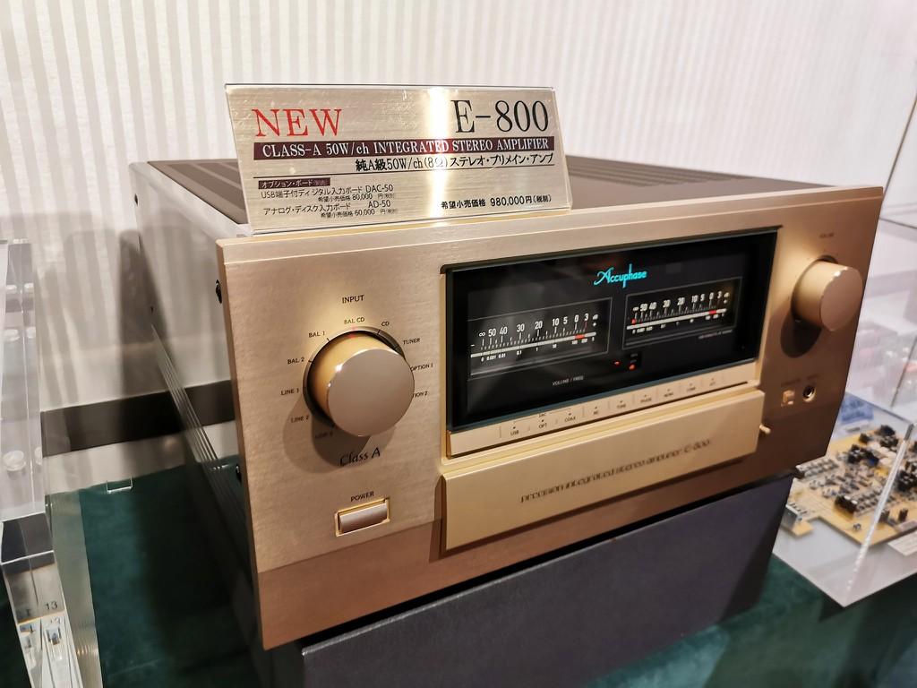 Ảnh thực tế đầu tiên của E-800, ampli Class A kỷ niện 50 năm được fan Accuphase mong chờ từng ngày ảnh 2