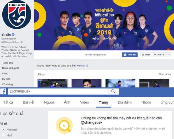 Doi nu thua tran, fanpage bong da Thai Lan lai chan dan mang VN hinh anh 1