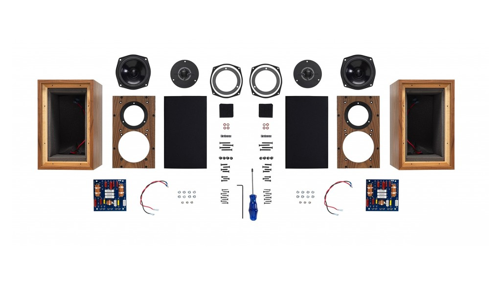 Q7 Mini-Monitor - Loa tự lắp ráp độc đáo của Falcon Acoustics giá 995 bảng ảnh 1
