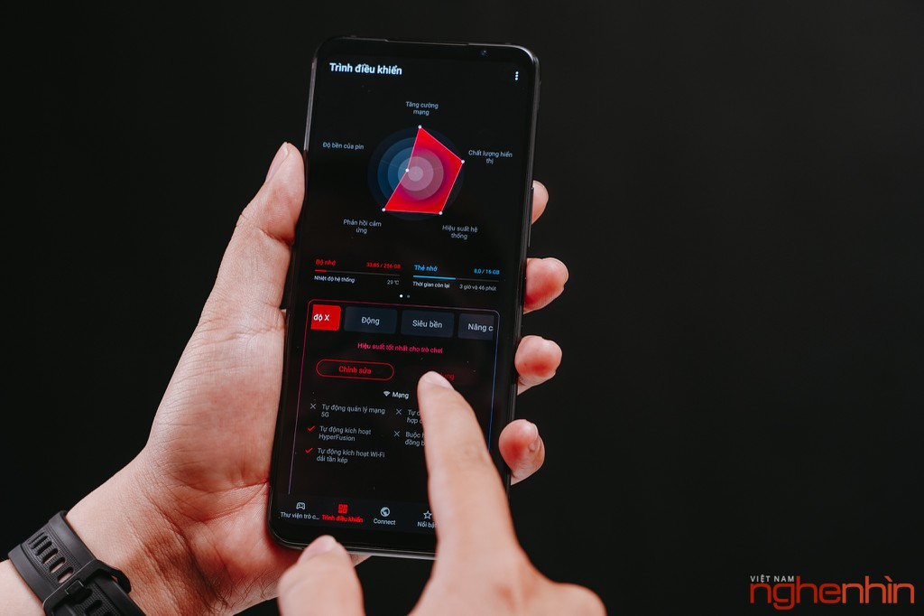 Trên tay ASUS ROG Phone 5 tại Việt Nam: nhiều thay đổi  ảnh 15