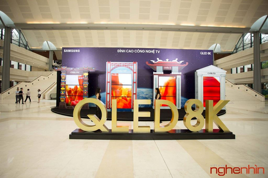 Samsung giới thiệu TV QLED 8K đầu tiên tại Việt Nam: hiển thị tuyệt vời, giá ngang một căn hộ ảnh 1