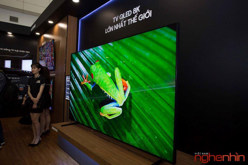 Samsung giới thiệu TV QLED 8K đầu tiên tại Việt Nam: hiển thị tuyệt vời, giá ngang một căn hộ ảnh 2