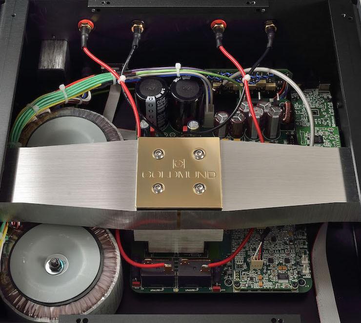 Goldmund Telos 590 NextGen II - Sức mạnh, sự vững chắc và mật độ âm sắc ở mức không tưởng ảnh 5