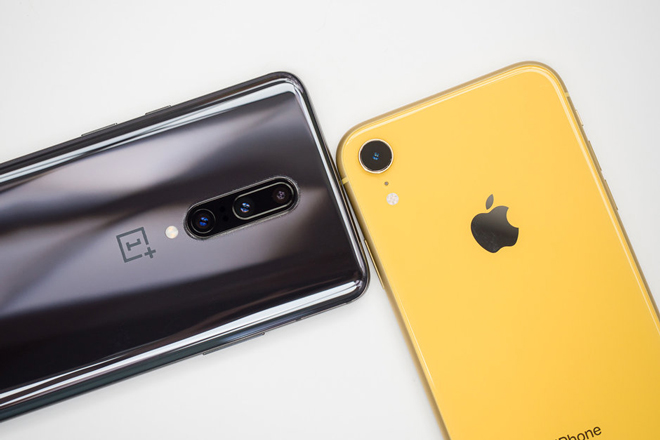 so sanh nhanh oneplus 7 pro va iphone xr hinh anh 6