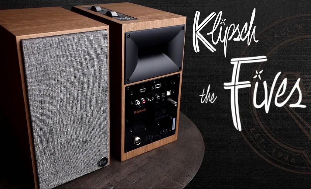 Klipsch The Fives – Đôi loa active hoàn hảo để kết nối TV ảnh 1