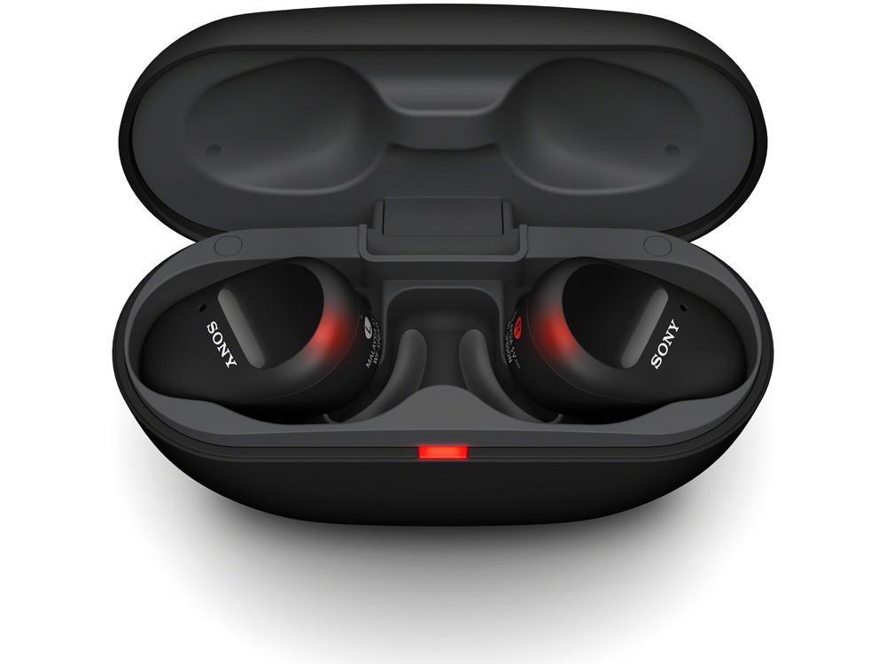 Sony ra mắt tai nghe WF-SP800N: Chất âm Extra Bass chi tiết, chống ồn cho hoạt động thể thao, giá 4.790.000 đồng