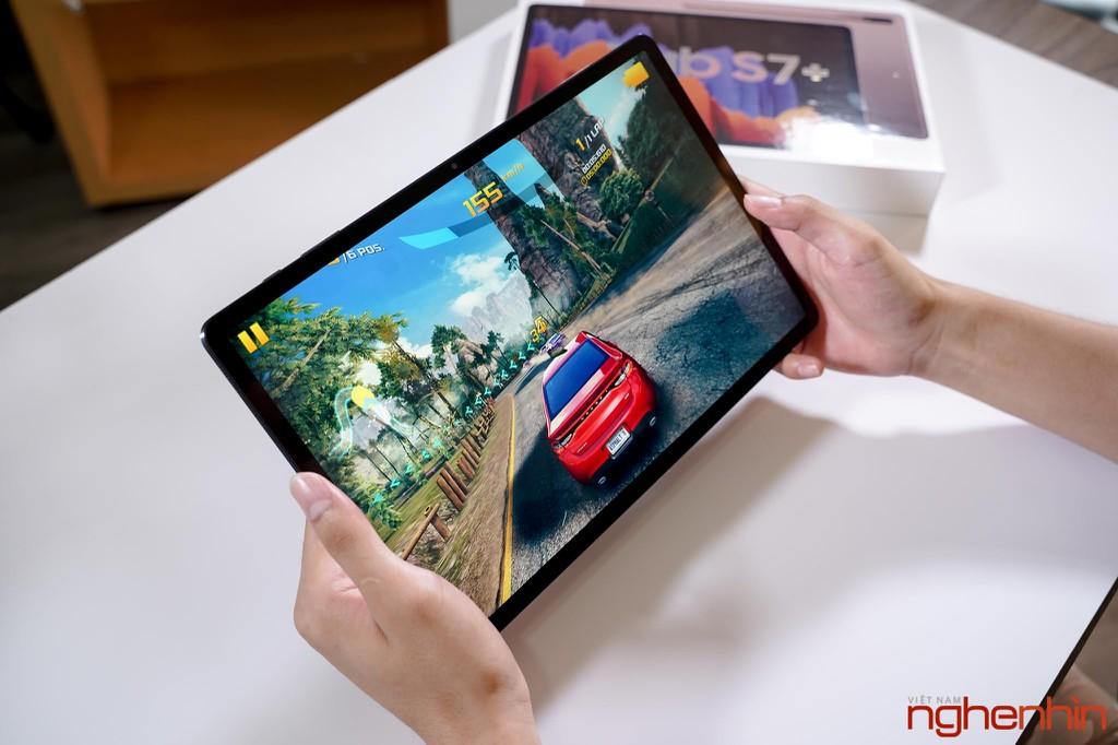 Trên tay Galaxy Tab S7+: giải trí chất, làm việc hiệu quả, giá 24 triệu ảnh 15
