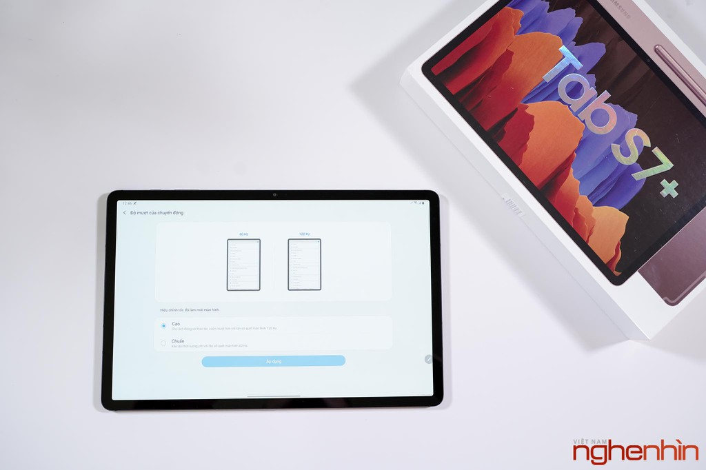 Trên tay Galaxy Tab S7+: giải trí chất, làm việc hiệu quả, giá 24 triệu ảnh 4