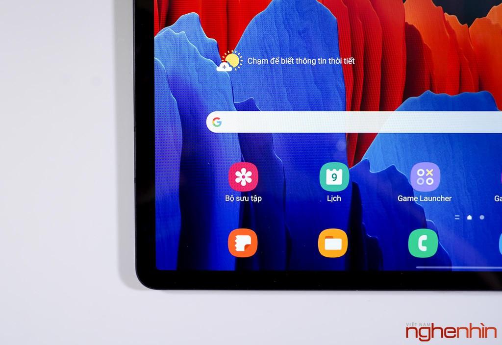 Trên tay Galaxy Tab S7+: giải trí chất, làm việc hiệu quả, giá 24 triệu ảnh 5
