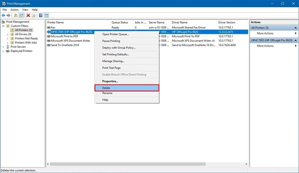 5 cách gỡ bỏ driver máy in trên Windows 10