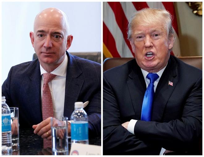 Ong Trump 'choi deu' Amazon, trao hop dong 10 ty USD cho Microsoft? hinh anh 1