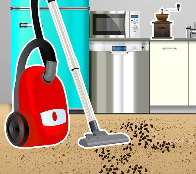 7 loại rác trong nhà không nên dùng máy hút bụi