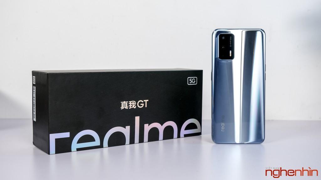 Trên tay Realme GT tại Việt Nam: cấu hình flagship giá tầm trung, đối đầu Redmi K40 Pro ảnh 4