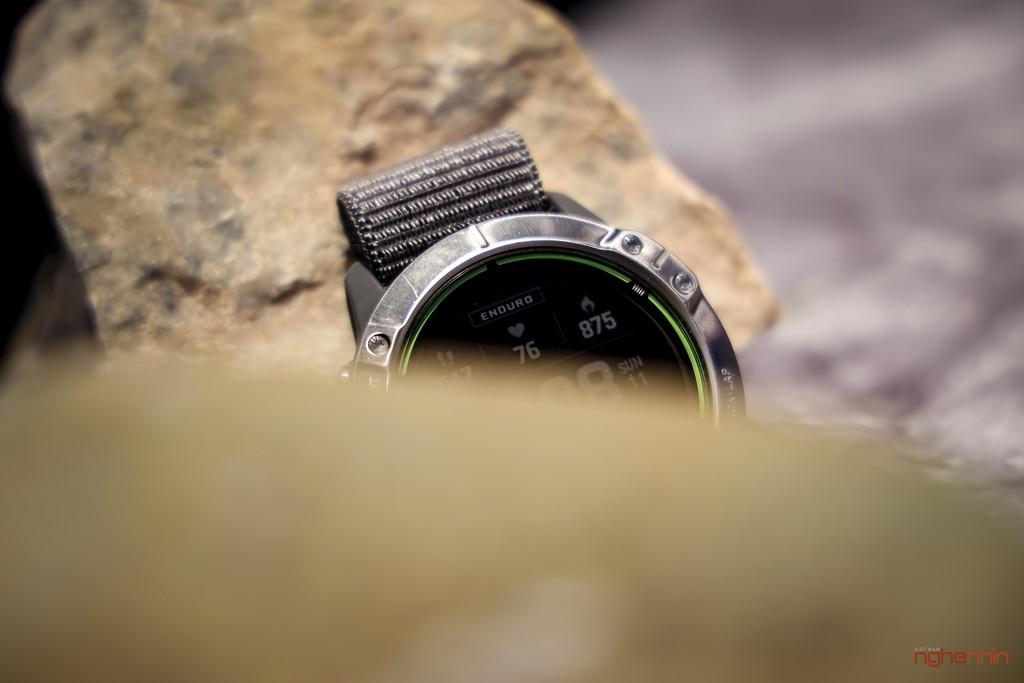 Cận cảnh Garmin Enduro tại Việt Nam: smartwatch pin 65 ngày, sạc bằng năng lượng mặt trời, giá 20 triệu ảnh 7