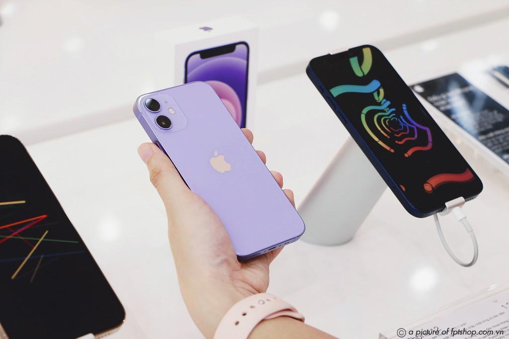 iPhone 12 chính hãng màu Tím sớm về Việt Nam giá 17,2 triệu ảnh 1
