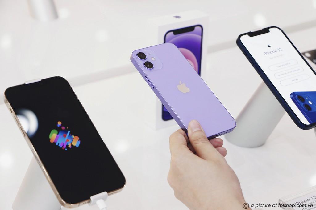 iPhone 12 chính hãng màu Tím sớm về Việt Nam giá 17,2 triệu ảnh 2