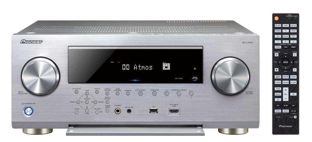 Pioneer giới thiệu bộ đôi receiver đầu bảng SC-LX904 / SC-LX704 và đầu đọc SACD mới ảnh 4