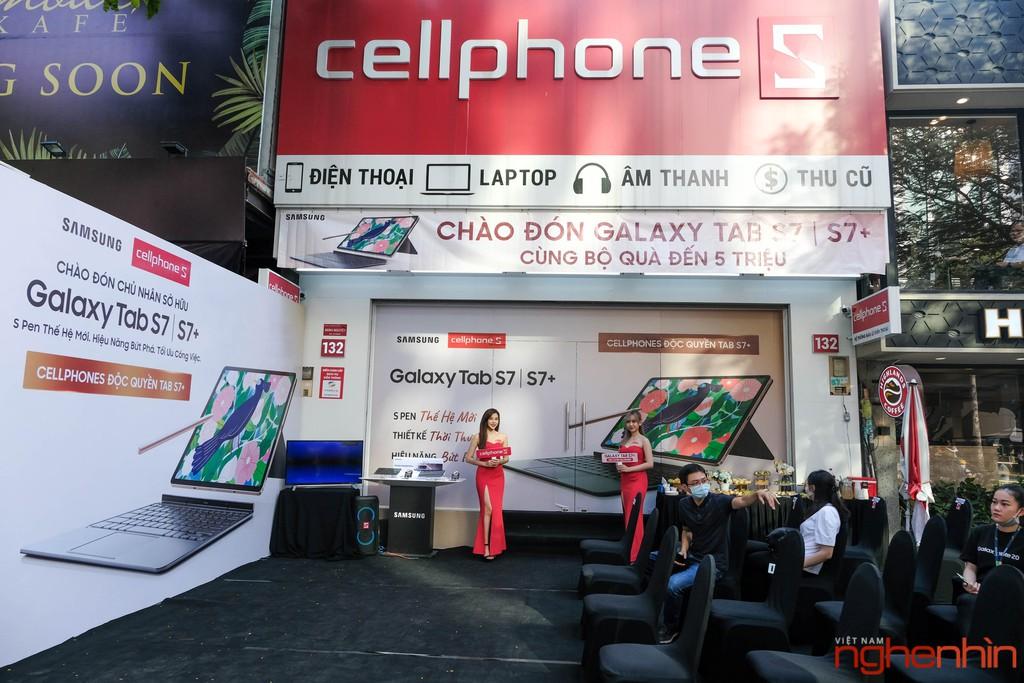 CellphoneS giao sớm Galaxy Tab S7 & Tab S7+, kỷ lục gần 700 suất đặt cọc ảnh 1