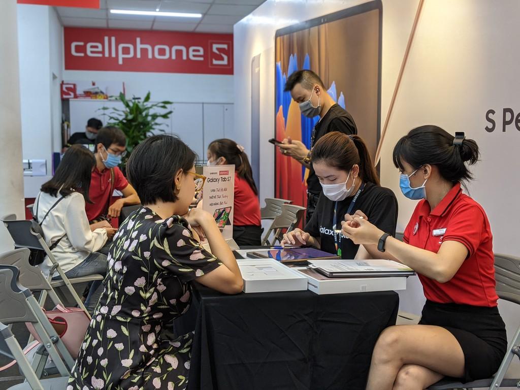CellphoneS giao sớm Galaxy Tab S7 & Tab S7+, kỷ lục gần 700 suất đặt cọc ảnh 4