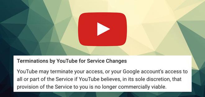 YouTube cập nhật từ 10/12: sẽ xóa tài khoản của bạn nếu chúng không khả thi về mặt thương mại - Ảnh 1.