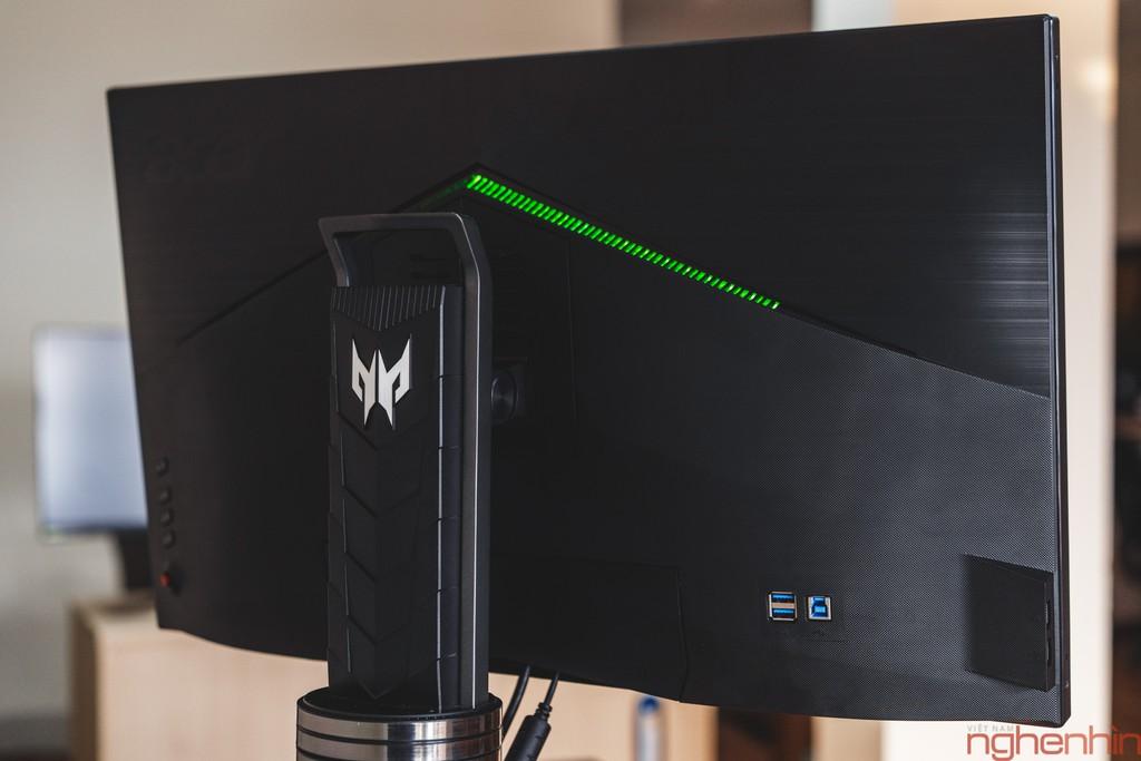 Đánh giá nhanh Acer Predator X27: màn hình chơi game 4K UHD, 144Hz, G-Sync và HDR ảnh 7