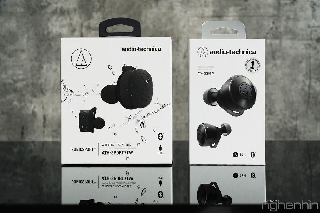 Trải nghiệm cặp tai nghe true wireless mới của Audio-Technica - Năng lượng siêu lực! ảnh 1